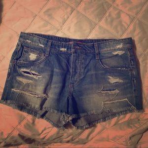 Joe's Jeans woman's cut off shorts Sz 30